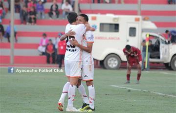 Ayacucho logró un triunfo clave ante Binacional