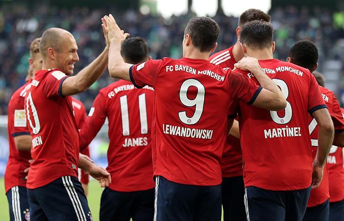 Bayern Múnich venció por 2-0 al AEK Atenas (Foto: EFE)