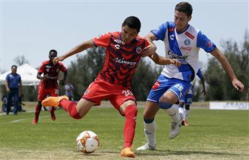 Nieto de Walter Ormeño debutó en la Liga MX