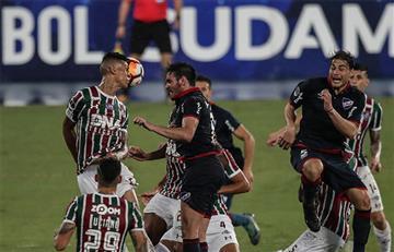 Fluminense no pudo ante Nacional en la Sudamericana