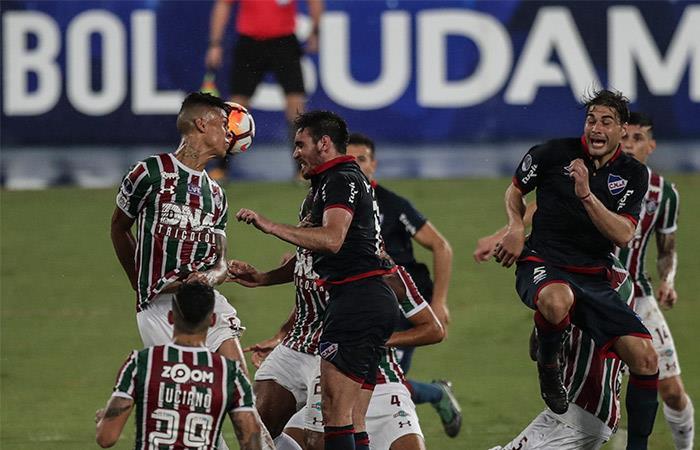 Fluminense vs Nacional. Foto: EFE
