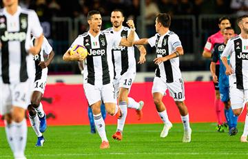 Dos goles de Cristiano le dieron el triunfo a Juventus