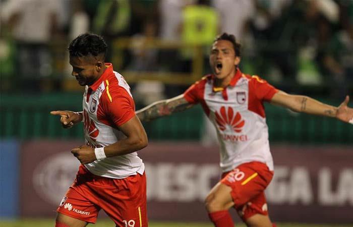 Independiente Santa Fe a semifinales de la Copa Sudamericana (Foto: EFE)