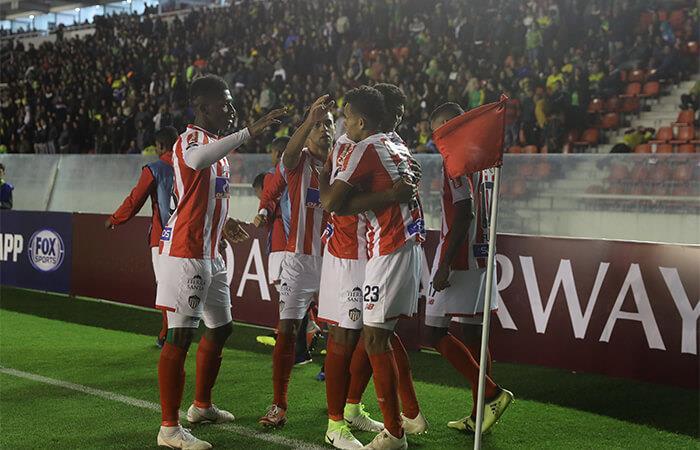 Junior avanzó a la semis de la Sudamericana. Foto: EFE