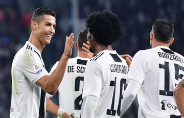 Juventus sigue imparable y venció a Cagliari por la Serie A