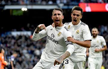 Real Madrid volvió al triunfo