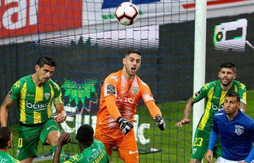 Sergio Peña, presente en la victoria del Tondela