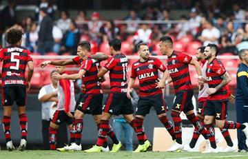 Sin Trauco, Flamengo igualó ante Sao Paulo por el Brasilerao