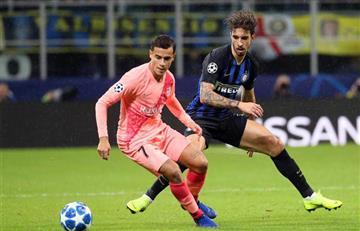 Inter empató con Barcelona en Champions