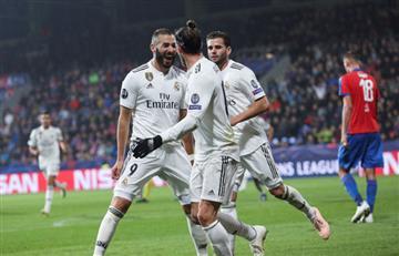 Real Madrid volvió a la victoria en Champions