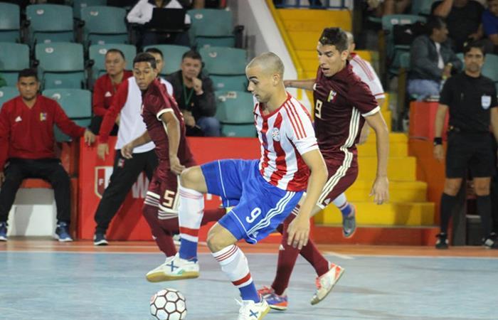Venezuela vs Paraguay EN VIVO ONLINE por el Sudamericano Sub 20 de Futsal Perù 2018