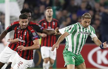 Betis vs Milan EN VIVO ONLINE - Europa League