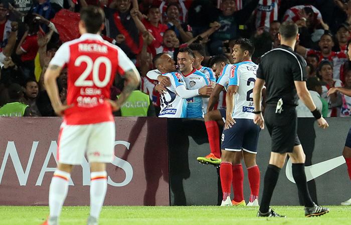 Independiente 0-2 Junior (Foto: EFE)