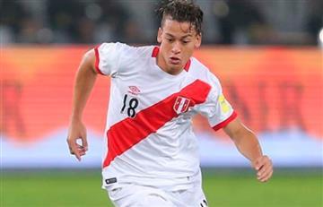Cristian Benavente en el once de Ricardo Gareca