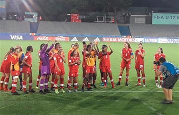 Canadá vs Colombia EN VIVO ONLINE por Mundial Sub 17 Femenino