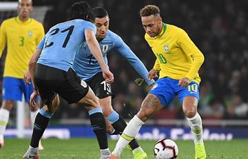 Brasil derrotó a Uruguay