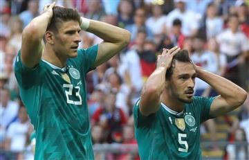 Alemania desciende de categoría en la Liga de Naciones de la UEFA