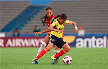 Colombia empató ante España