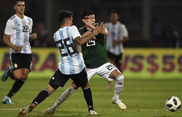 Argentina volvió a vencer a México