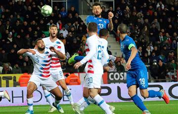 Italia ganó con lo justo a Estados Unidos
