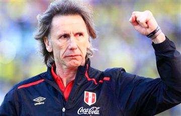 Ricardo Gareca es el entrenador con más partidos frente a Perúi