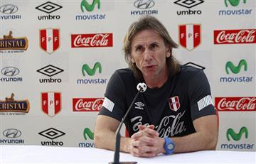 Gareca explicó la derrota de Perú ante Costa Rica