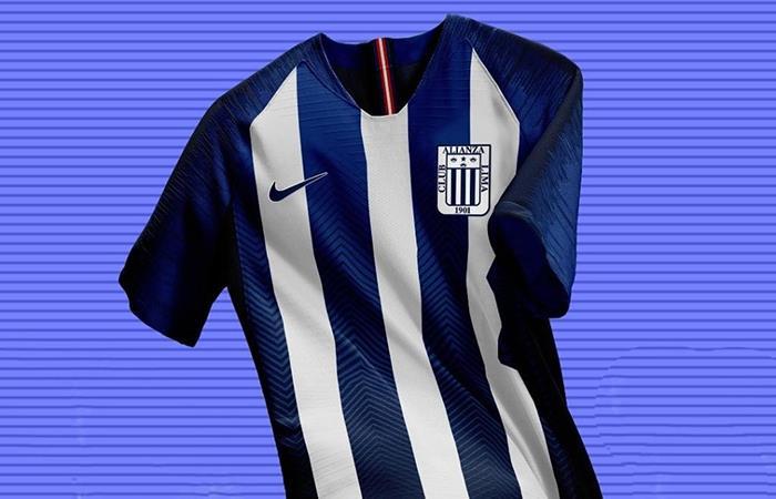 Se filtró nueva camiseta de Alianza Lima de cara a la temporada 2019. Foto: Twitter