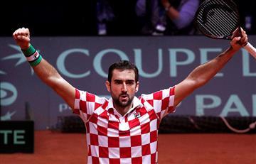 Copa Davis: Croacia 2-0 Francia