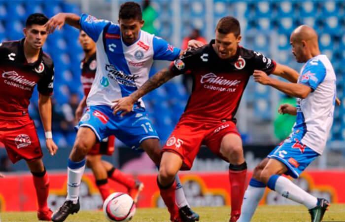 Puebla vs Xolos en la Liga MX (Foto: AFP)
