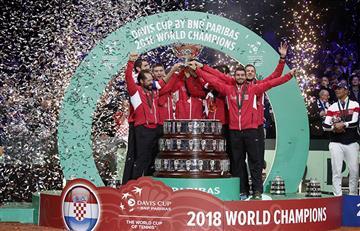 Croacia campeón de la Copa Davis