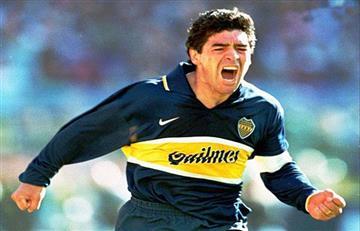 Diego Maradona pide la Copa Libertadores para Boca Juniors