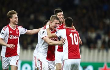 Ajax a octavos de la Champions League