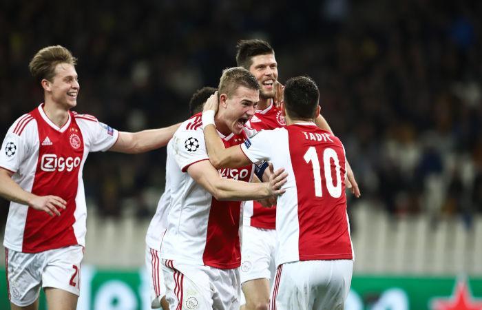 Ajax venció por 2-0 al AEK Atenas (Foto: EFE)