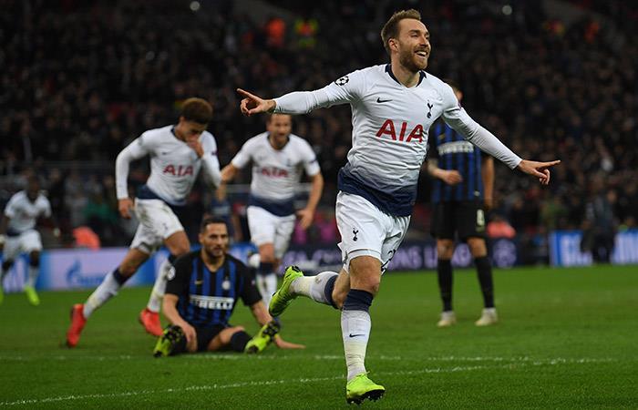 Tottenham derrotó por la mínima al Inter. Foto: EFE