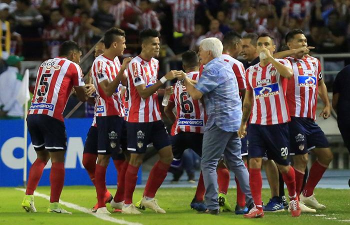 Junior jugará la final de la Sudamericana (Foto: EFE)