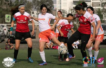 Liga Libre Femenina F7: Programación de Cuartos de Final de Liga Interempresas