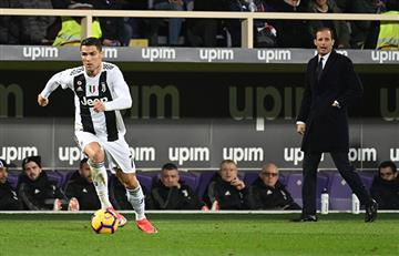 Ronaldo anotó en el triunfo de la Juventus
