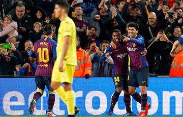Barcelona ganó y continua líder