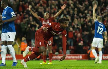 Liverpool derrotó al Everton