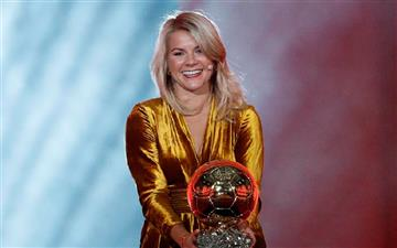 Ada Hegerberg se consagró como la ganadora del primer Balón de Oro femenino