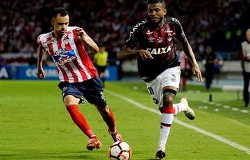 Junior empató ante Atlético PR por Copa Sudamericana