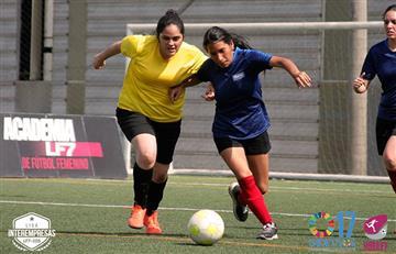 Liga Libre Femenina F7: Programación de las Semifinales de la Liga Interempresas