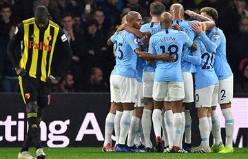 Manchester City se mantiene en la cima de la Premier