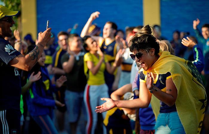 Hinchas de Boca Juniors (Foto: EFE)