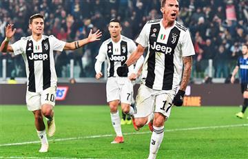 Juventus venció a Inter en el clásico de Italia