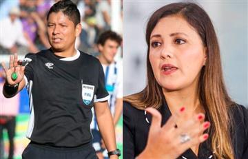 Gobernadora de Arequipa molesta con el arbitraje de Alarcón