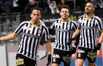 Charleroi empató con gol de Benavente ante Anderlecht