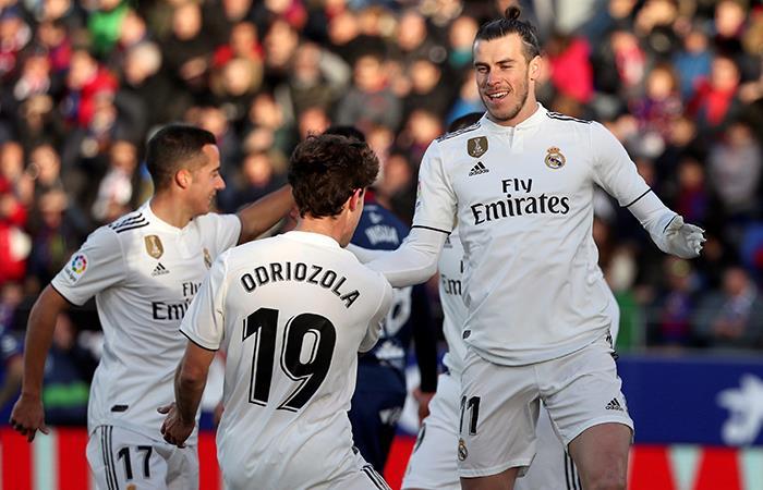 Real Madrid venció con lo justo al Huesca por LaLiga