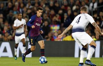 Barcelona y Tottenham a octavos de Champions