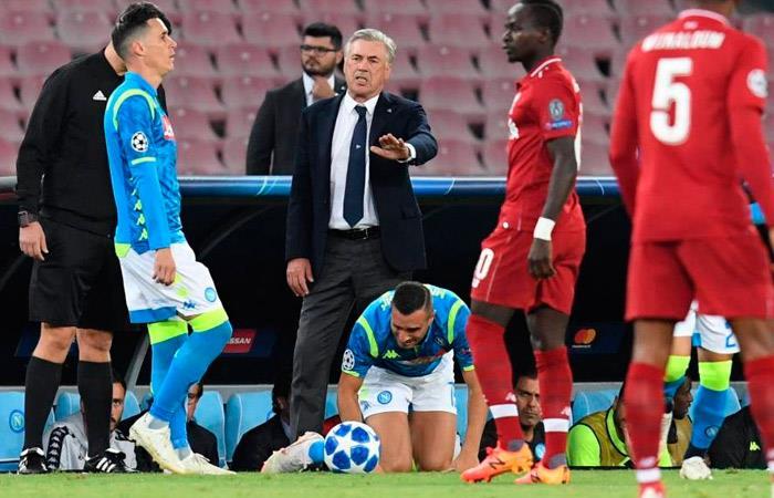 Napoli vs Liverpool (Foto: EFE)